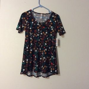 NWT  LuLaRoe Perfect T Floral Top